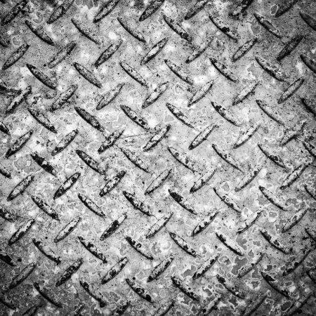 Checkerplate Background Black and White