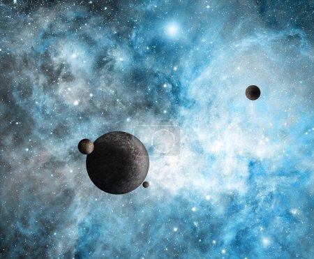 Photo pour Planètes exotiques - image libre de droit