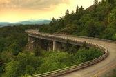 panorama viaduc de Linn cove