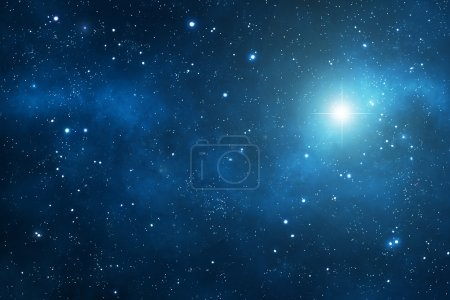 Photo for Deep space background with nebulae - Royalty Free Image