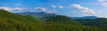 Smoky mountain panorama