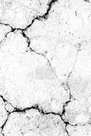 Old concrete with cracks