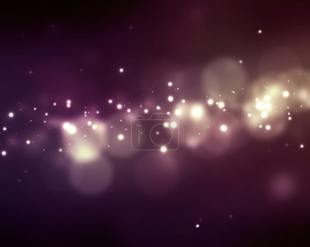 Photo for Blurry background with colorful bokeh lights. - Royalty Free Image