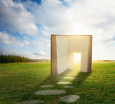 Open Book with doorway
