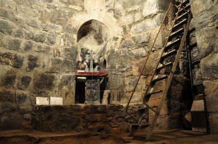 The pit where hieromartyr Gregory the Illuminator ...