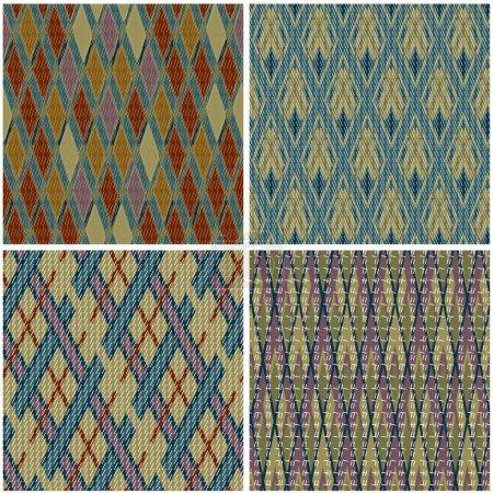 Jacquard patterns set