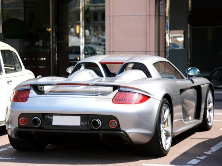 Luxury sportcar in Monte Carlo, Monaco