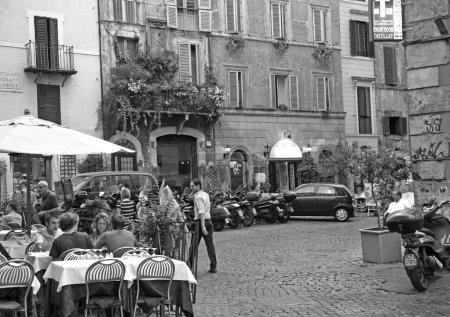 Piazza Pollarola Rome Italy