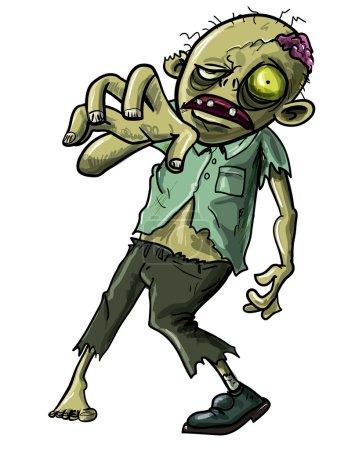 Zombie making a grabbing movement