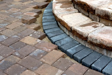 Building Patio Steps