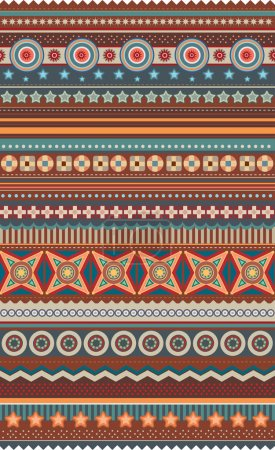 Ethnic various strips