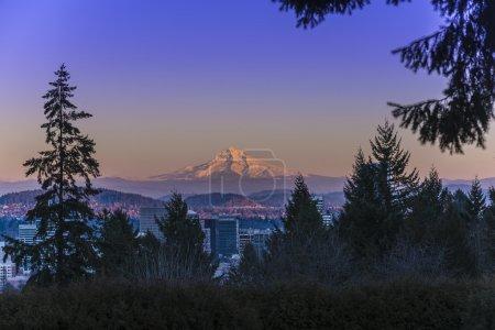 Mount Hood at Sunset
