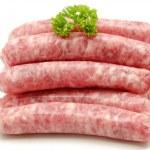 Fresh raw sausage
