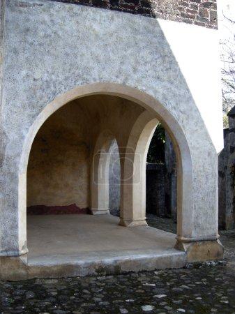 Mexican convent interior