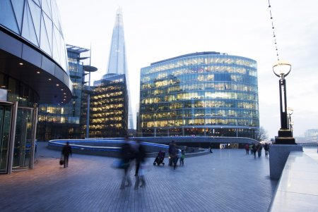 Photo for Building in London financial district - Royalty Free Image