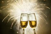 Brýle se šampaňským