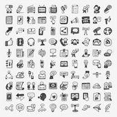 Batůžek ikony Doodle