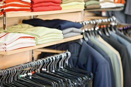 Photo for Man's clothing in the store - Royalty Free Image