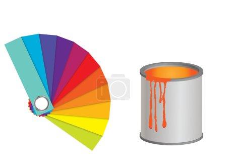Color fan.