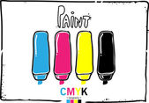 CMYK sketch background
