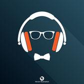 Audio headphone icon