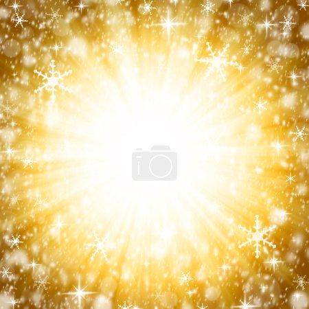 Photo for Abstract christmas bokeh - Royalty Free Image