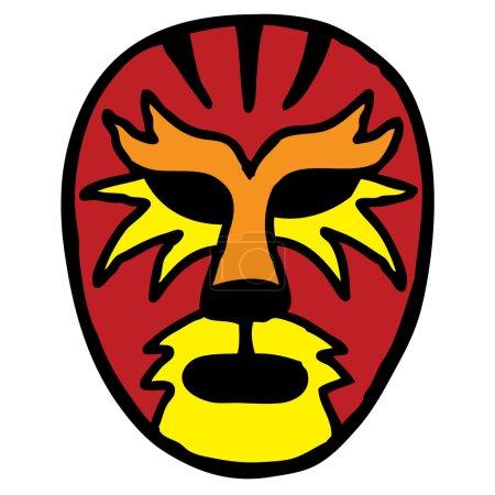 Tiger Wrestling Mask
