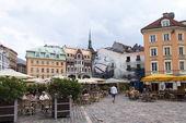Latvia, Riga.Tipichny urban view