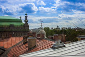 St. Petersburg, Russia. Views on the rooftops