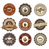 Nine Coffee Badges For Web Or Print