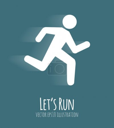 Let s Run Poster