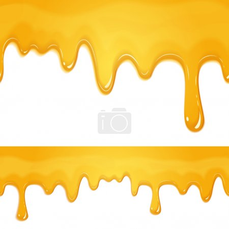 honey drips pattern