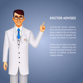Doctor giving advice