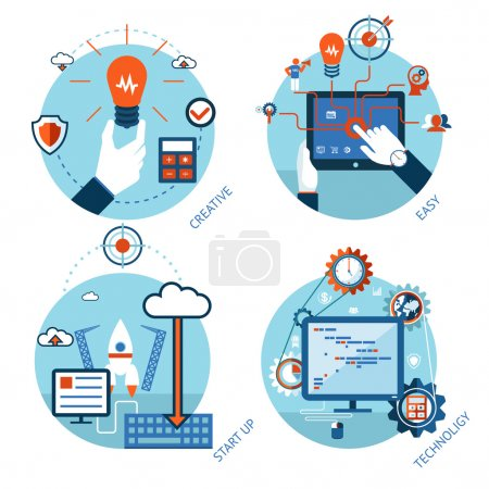 Easy management of technological projects