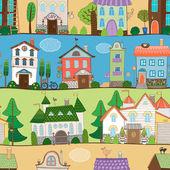Cute houses  castles and establishments design