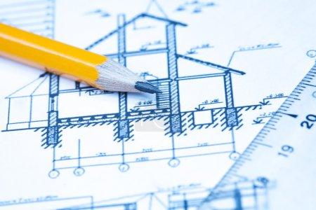 Konstruktions- und Architekturzeichnungen