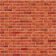 Red brick wall seamless Vector illustration backgr...