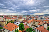 Cityscape of Brno, Czech Republic