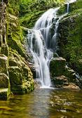 Famous Kamienczyk waterfall, Poland