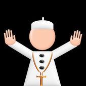 Pope puppet 3d