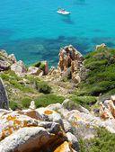 Rocks and sea in La Maddalena archipelago, Spargi island, Sardinia