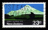 Egmont národní park na Novém Zélandu