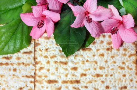 Spring holiday of Passover and its attributes, mat...