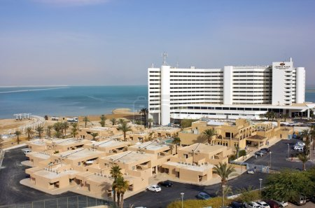 Crowne Plaza Hotel in Ein Bokek, Dead Sea, Israel