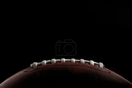 Photo for American football over black - Royalty Free Image