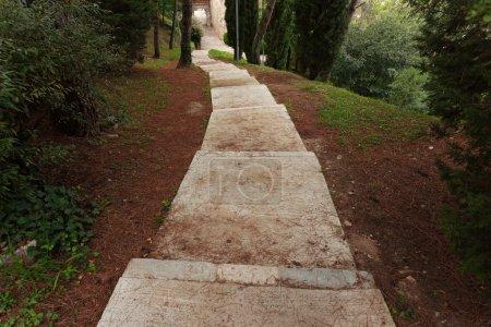 Long ancient stone