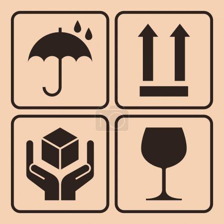 Packaging symbols