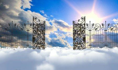 Foto de Puerta de cielo - Imagen libre de derechos