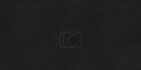 Photo pour Texture haute résolution en cuir noir - image libre de droit