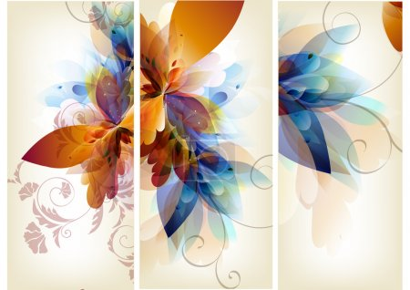 Illustration for Floral vector - Royalty Free Image